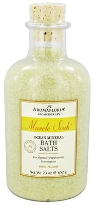 muscle_soak_ocean_mineral_bath_salts-max-800x800 Aromafloria Muscle Soak Ocean Mineral Bath Salts(23oz) - Exhale...Spa