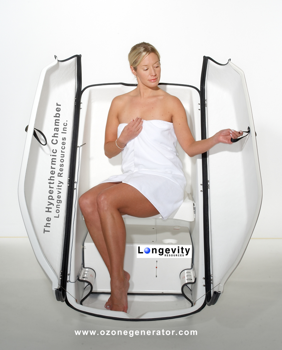 HyperthermicChamber Ozone Sauna Therapy - Exhale...Spa