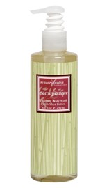 Aromafloria Pomegranate Foaming Body Wash with Shea Butter